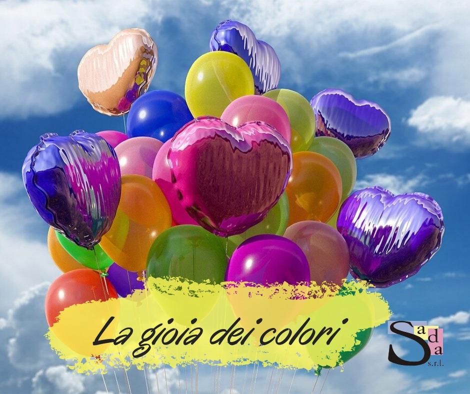 La gioia dei colori